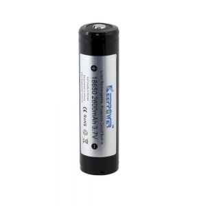 Akumulator Li-ION 2600mAh 3,7V ICR18650 KeepPower