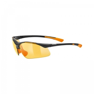 Okulary Uvex Sportstyle 223 Black Orange PC Orange