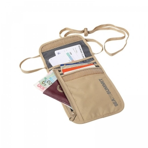 Portfel STS TravellingLight Neck Wallet Sand/Grey