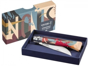 Nóż Opinel Inox nr 08 Edition Love By C