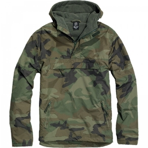 Kangurka Brandit Windbreaker US Woodland