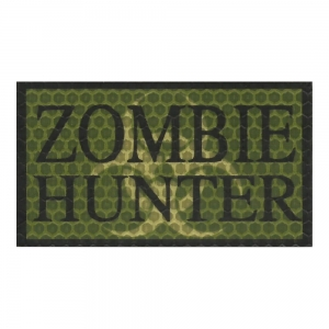 Plakietka Zombie Hunter OD 90x50mm