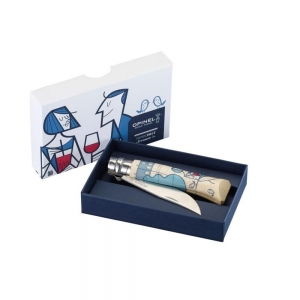 Nóż Opinel Inox nr 08 Edition France By Giorgini