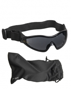 Gogle Commando Para Mil-Tec Black Smoke