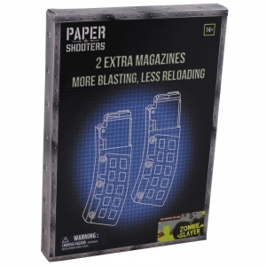 Magazynki Paper Shooters 2-Pack Zombie