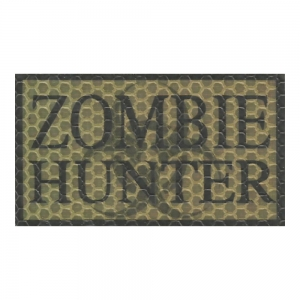 Plakietka Zombie Hunter CT 90x50mm