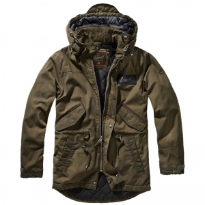 Kurtka Brandit Parka Nile Coated Men Olive