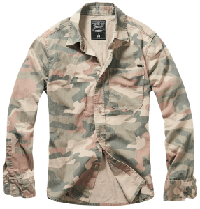 Koszula Josh Camo Long Light Woodland