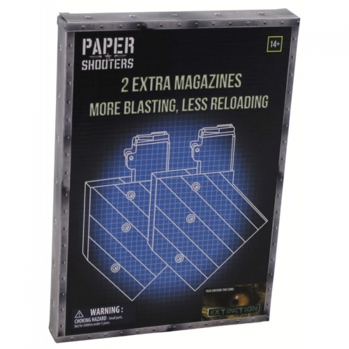 Magazynki Paper Shooters 2-Pack Extinction
